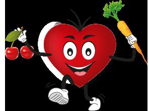 Viel Obst & Gemüse essen